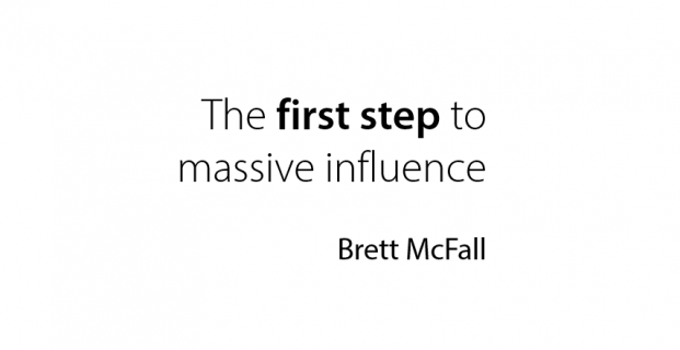 LIVE ON STAGE – The 1st Step To Massive Influence